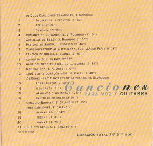 ContraPortada CD 1